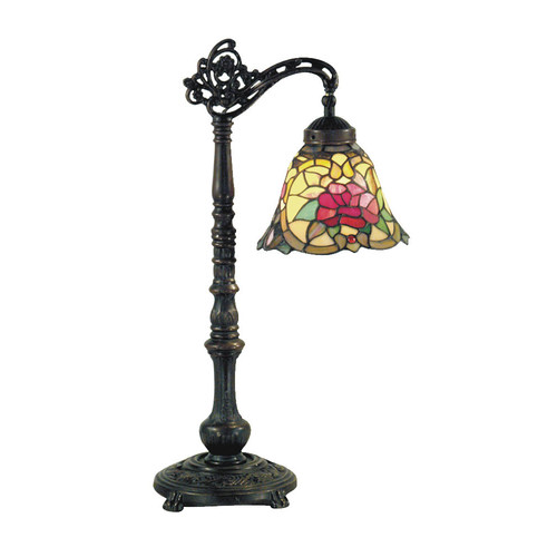 G & G Brothers Camellia Edwardian Table Lamp
