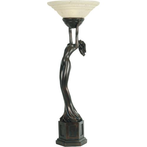 G U0026amp; G Brothers Art Deco Lady Uplight Table Lamp
