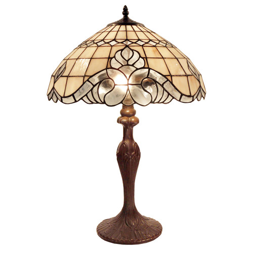 G & G Brothers Odessa Tiffany Table Lamp