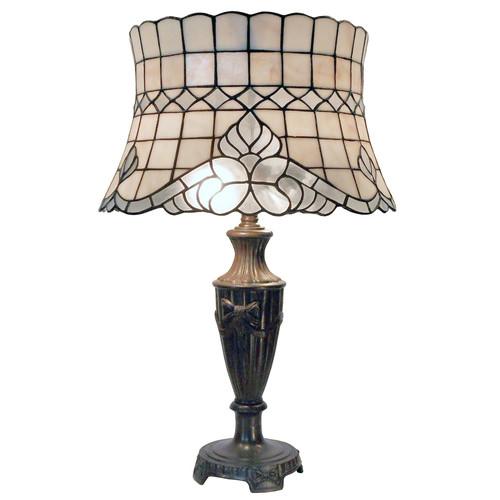 G & G Brothers Sofia Tiffany Table Lamp