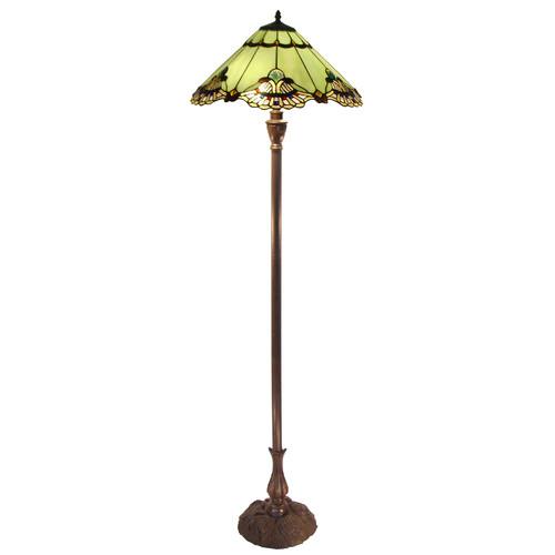 G & G Brothers Benita Leadlight Floor Lamp