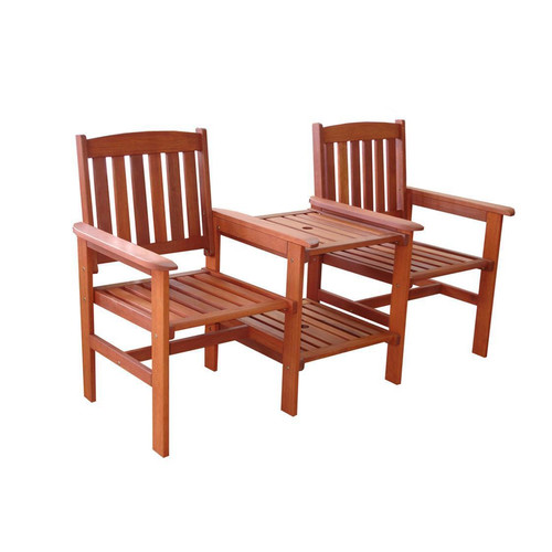 Outstanding Coogee Outdoor Timber Deck Chair Table Combo Gamerscity Chair Design For Home Gamerscityorg