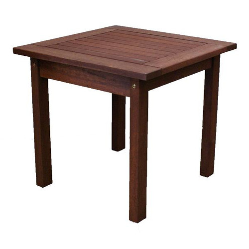 Woodlands Outdoor Furniture Sanders Small Outdoor Timber Side Table