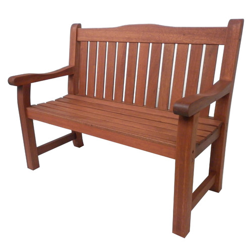 2 Seater Siesta Outdoor Timber Bench, Outdoor Timber Furniture
