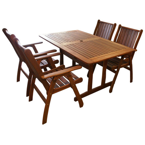 Woodlands Outdoor Furniture Jamaica 5, Outdoor Timber Furniture