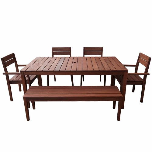 8 Seater Outdoor Dining Table Set Temple Webster