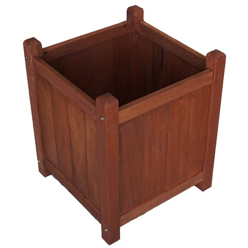 Woodlands Outdoor Furniture Shorea Wood Planter Box