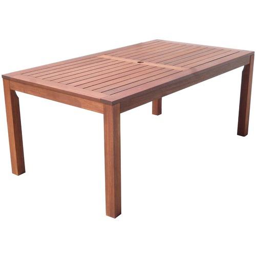 Woodlands Outdoor Furniture 3 Piece Hardwood Outdoor Dining Set