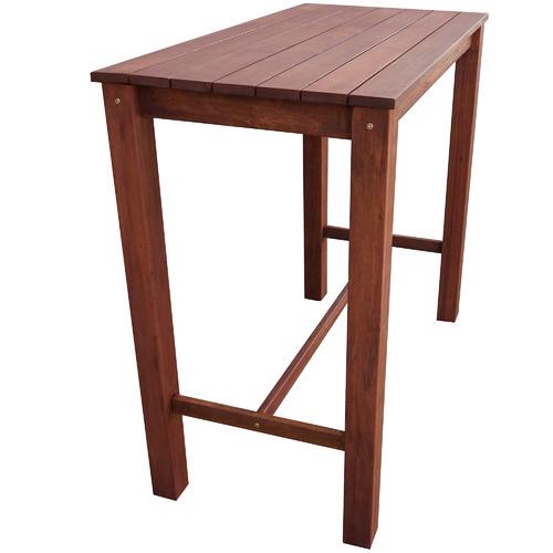 Woodlands Outdoor Furniture Patio Shorea Wood Outdoor Bar Table