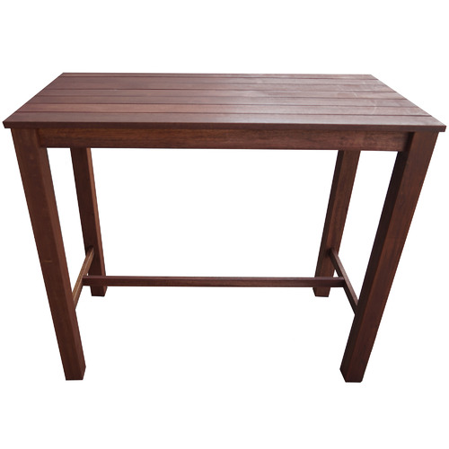Woodlands Outdoor Furniture Patio Shorea Wood Outdoor Bar Table