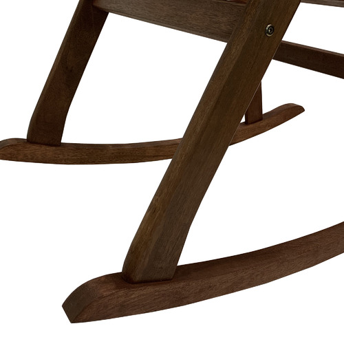 Woodlands Outdoor Furniture Mada Shorea Wood Summer Rocking Chair