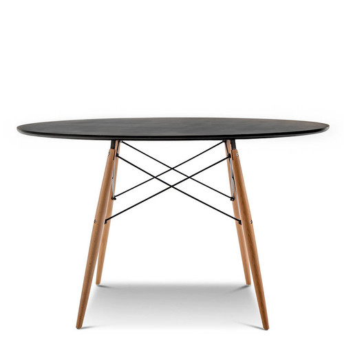 Continental designs replica eames dsw round dining table for Design table replica