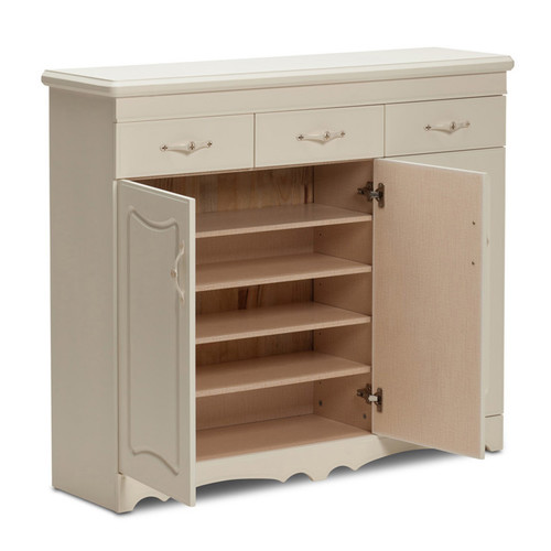 French Provincial Kitchen Cabinets: Continental Designs 3 Door 3 Drawer French Provincial Shoe