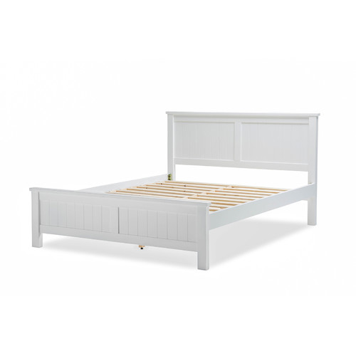 Continental Designs White Aspen Highlands Wood Bed