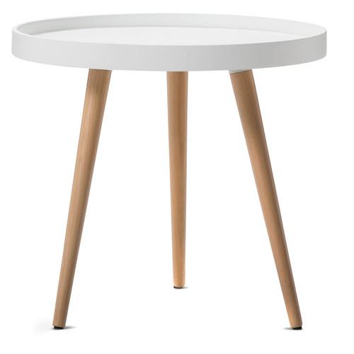 Scandinavian Design Side Tables: Jokum Scandinavian Style Tray Side Table