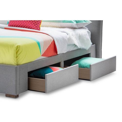 Continental Designs Seattle 4 Drawer Queen Bed