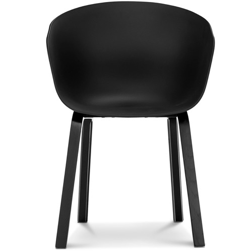 Black hay scoop replica dining chairs temple webster for Hay about a stool replica