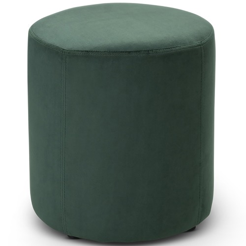 Continental Designs Luxe Padded Velvet Ottoman