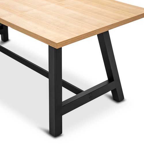 Continental Designs Brooklyn Dining Table & Eames Replica Chairs Set
