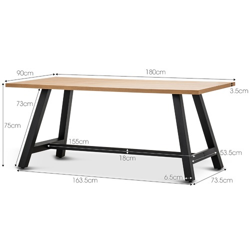Continental Designs Brooklyn Dining Table