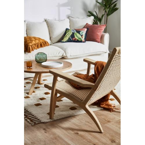 Continental Designs Light Oak Roi Coffee Table