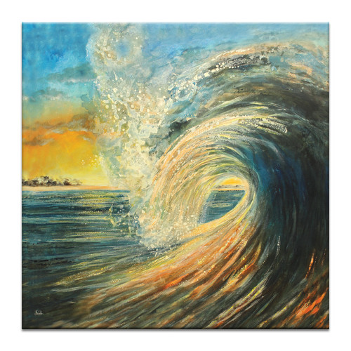Our Artists' Collection Last Wave by Jennifer Webb Wall Art
