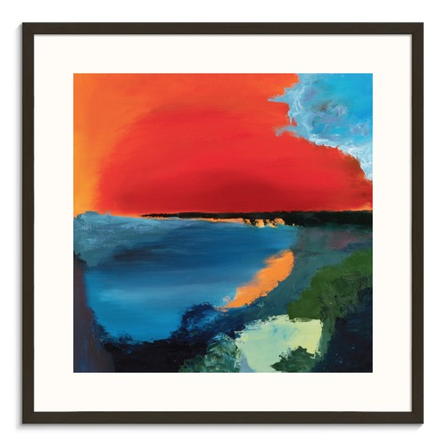 Our Artists' Collection Warm Sun Printed Wall Art