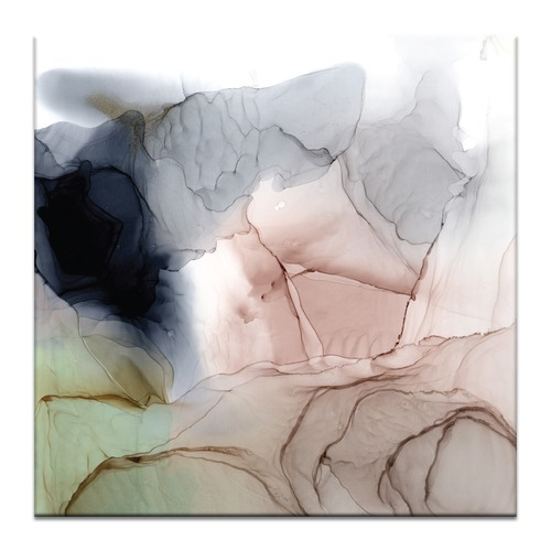 Our Artists' Collection Blush Abstract Printed Wall Art by Fern Siebler