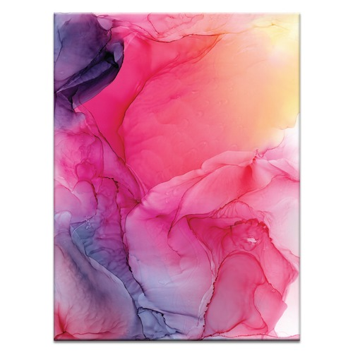 Our Artists' Collection Pale Rose II Abstract Printed Wall Art by Fern Siebler