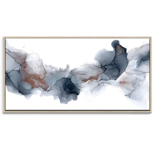 Our Artists' Collection Fire & Ice Abstract Printed Wall Art by Fern Siebler