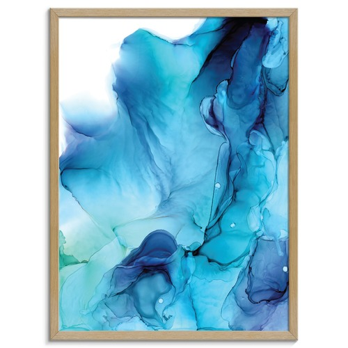 Our Artists' Collection Tempest Abstract Printed Wall Art by Fern Siebler