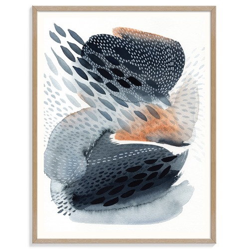 Our Artists' Collection Acorn Folk Printed Wall Art