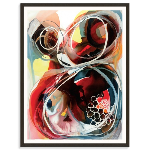 Our Artists' Collection Combara Crawl Printed Wall Art by Lara Scolari