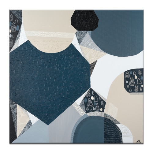 Our Artists' Collection Blue Stone Basalt Printed Wall Art by Ani Ipradjian