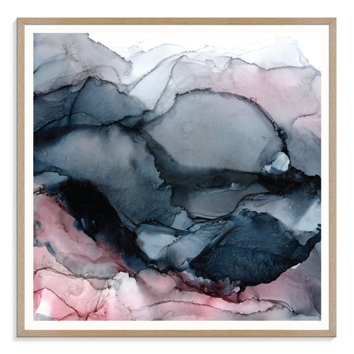 Midnight Mountains Printed Wall Art