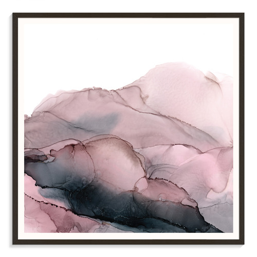 Our Artists' Collection Blush Mountains Printed Wall Art by Fern Siebler