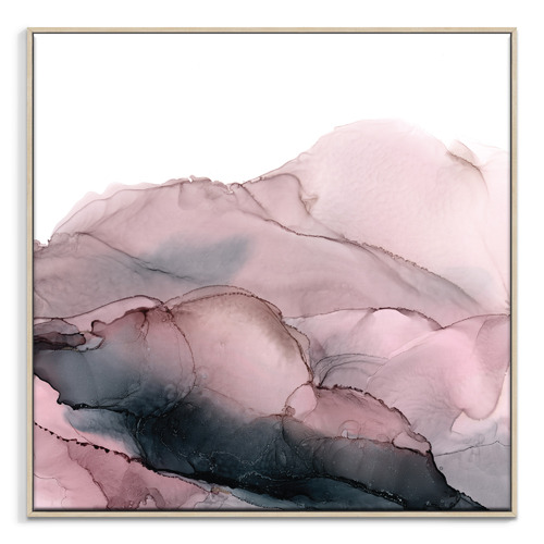 Our Artists' Collection Blush Mountains Printed Wall Art