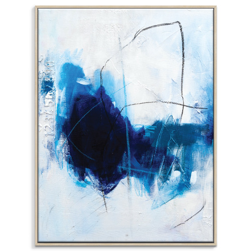 Our Artists' Collection True Blue Printed Wall Art