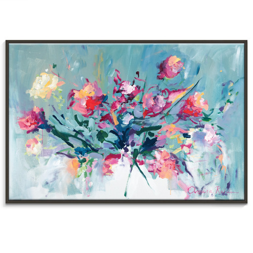 Our Artists' Collection Courage To Bloom Printed Wall Art