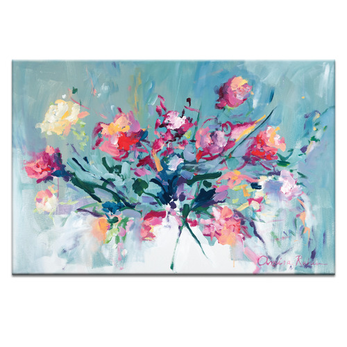 Courage To Bloom Printed Wall Art