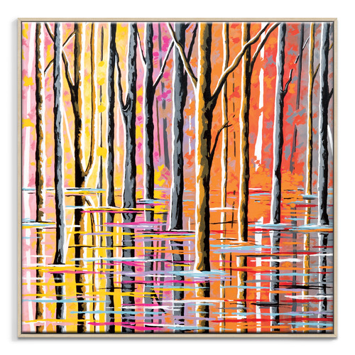 Our Artists' Collection Forest of Loch Lomond Printed Wall Art by Steven Brown