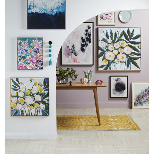 Our Artists' Collection Just Add Blue Printed Wall Art