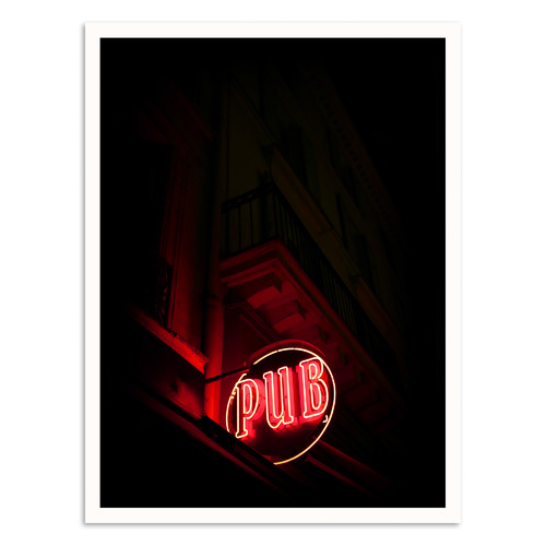 Our Artists' Collection Pub Printed Wall Art