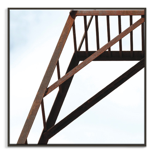 Our Artists' Collection Rust Printed Wall Art