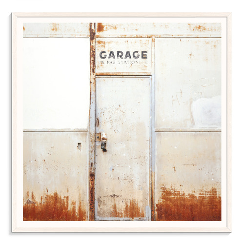 Our Artists' Collection Garage Printed Wall Art