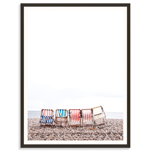 Our Artists' Collection 5 Chairs Printed Wall Art