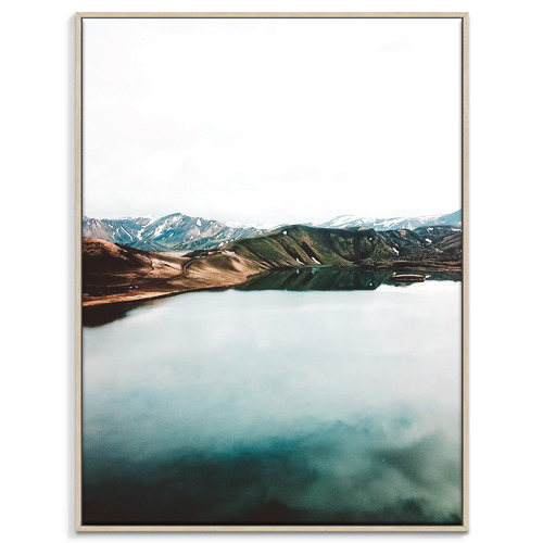 Our Artists' Collection Lake Reflection II Printed Wall Art