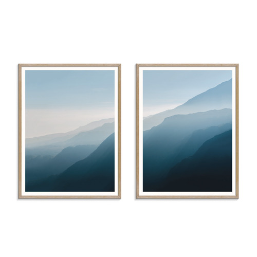 Our Artists' Collection 2 Piece Main Mountain Printed Wall Art Set