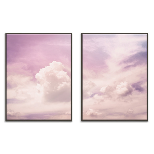 Our Artists' Collection 2 Piece Lone Flyer Printed Wall Art Set