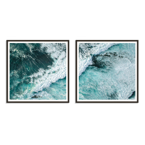 Our Artists' Collection 2 Piece Rough Day Printed Wall Art Set